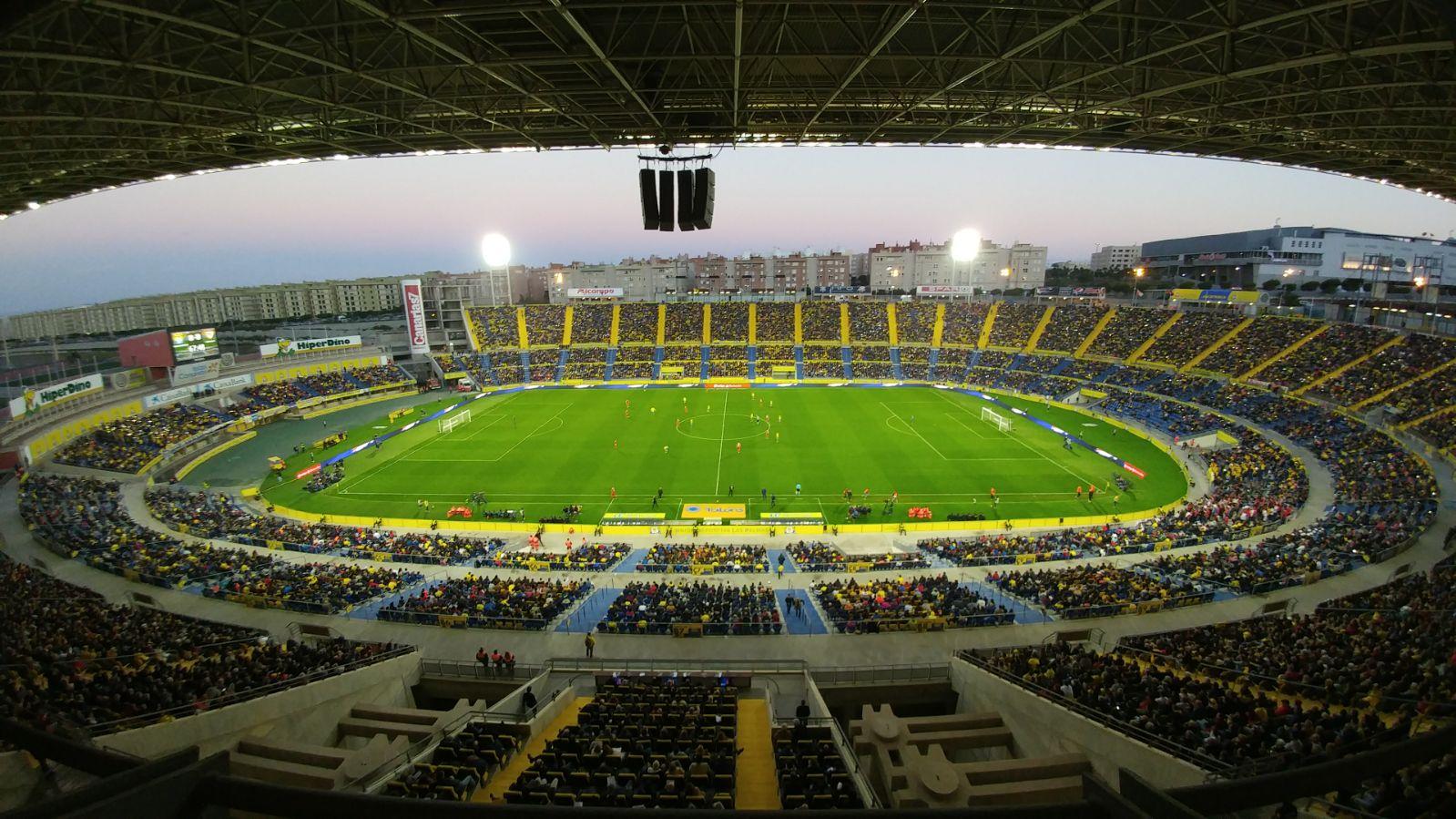 Resultado de imagen de El Estadio de Gran Canaria a