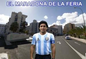 HUMOR: El Maradona de La Feria