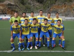 El filial sufre para llevarse la victoria de La Palma (1-3)