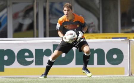 Raúl jugó su tercer partido de la temporada / Carlos Díaz-Recio; udlaspalmas.es