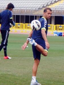 David González afirma que no celebraría un gol ante la UD