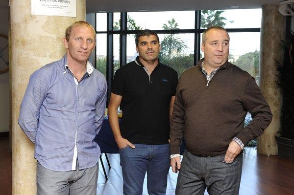 Branko Milovanovic, Juanito Rodrígyez y Miguel Ángel Ramírez / Canarias7.es