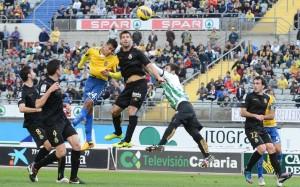 Las Palmas dispuso de varias ocasiones para sentenciar el partido / Samuel Sánchez (udlaspalmas.net)