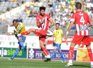 Nauzet Alemán suma tres goles en la presente temporada / Samuel Sánchez (udlaspalmas.net)
