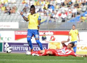 Thievy suma 6 goles en el campeonato liguero / Samuel Sánchez (udlaspalmas.net)