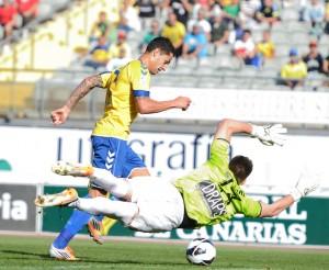 Vitolo suma 11 goles en la presente temporada / Samuel Sánchez (udlaspalmas.net)