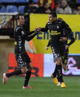 Murillo y Pignol celebran el tanto del empate / El Periódico del Mediterráneo