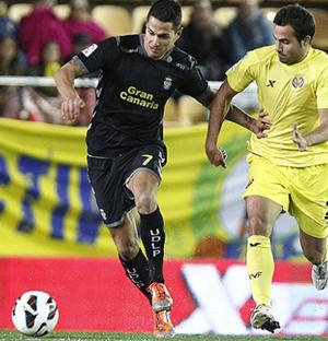 Vitolo fue uno de los jugadores más destacados en El Madrigal / Web oficial Vilalrreal CF