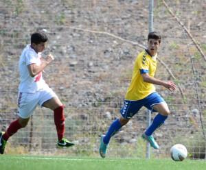 Héctor Hernández acaba como segundo máximo goleador / Samuel Sánchez (udlaspalmas.net)