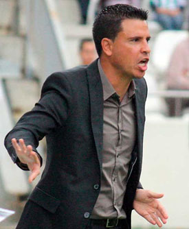 Sergio Lobera evitó valorar el negligente arbitraje de Pérez Pallas