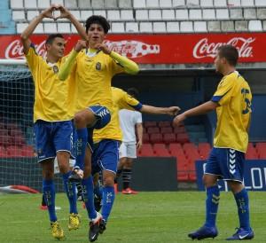 Nili marcó su séptimo gol de la temporada / Santi Pérez (udlaspalmas.net)