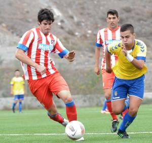 Alejandro Rodríguez jugará la próxima temporada en el primer equipo / Samuel Sánchez (udlaspalmas.net)
