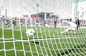 Asdrúbal terminó la temporada con 15 goles / Samuel Sánchez (udlaspalmas.net)