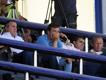 Ramírez, Toni Cruz, Juanito y Branko, en una imagen de archivo / Mykel