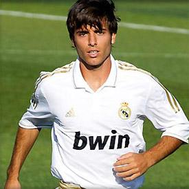 Jordi Vidal, jugador del Real Madrid C