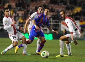 Ángel Rodríguez, en un encuentro con el Levante / Getty