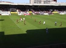 El filial cae en Lasesarre y pierde el liderato (1-0)
