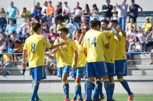 Las Palmas Atlético ha ocupado siempre puestos de playoff / Samuel Sánchez (udlaspalmas.net)