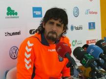 Mariano Barbosa, esta mañana en rueda de prensa / Norberto González (Twitter)