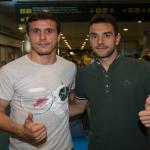 Guzmán y Christian ya están en Gran Canaria