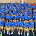 Unos 50 jóvenes participan en el campus impartido por la UD Las Palmas en Lanzarote
