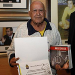 Ramón Naranjo, un fiel que verá el ascenso desde el cielo