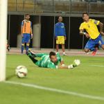 Así cantó Francis Matas los goles de Aythami y Araujo (AUDIO)