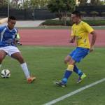 Las Palmas se divierte ante el Marino (1-7)
