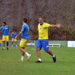 Herrera insiste en la presión alta en campo rival
