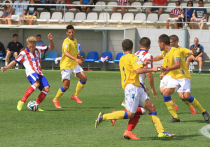 Las Palmas Atlético venció por la mínima / Foto: Atlético de Madrid.