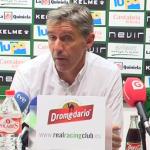 """El entrenador del Racing destaca el """"estado de gracia"""" de Araujo"""