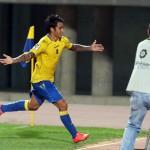 El primer gol de Araujo ante el Alcorcón, elegido el mejor de septiembre