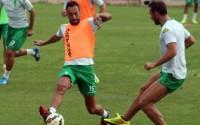 Deivid, en un entrenamiento con el Córdoba / cordobacf.com