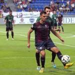 Tyronne jugó treinta minutos en su debut con el Huesca