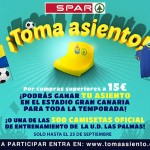 SPAR Gran Canaria te invita a tomar asiento y animar a la UD