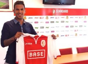 Jonathan Viera, con la camiseta de su nuevo equipo / Web oficial Standard de Lieja