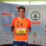 Sergio Araujo desea suerte a los participantes de la LPA Night Run