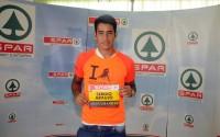 Más de 4.000 corredores participarán este sábado en LPA Night Run. Araujo les deseó suerte