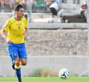 Álvaro Arencibia, el comodín de Las Palmas Atlético