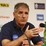 """Paco Herrera: """"Hay que discutirle el balón al Valladolid"""""""