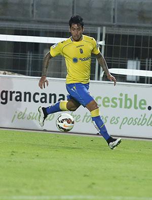Araujo suma quince tantos en su cuenta / Toño Suárez (udlaspalmas.net)
