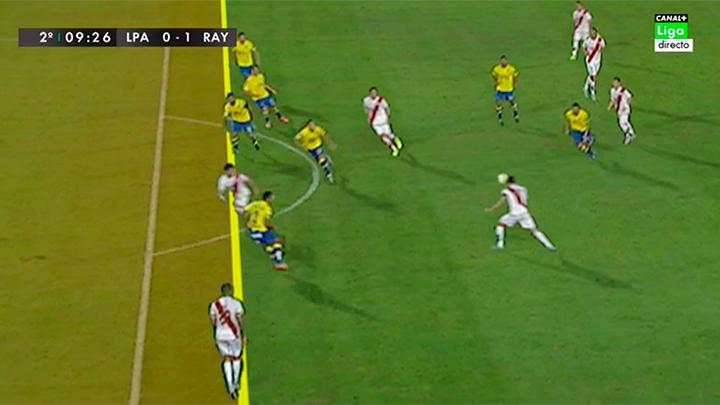 Fuera de juego en el gol de javi guerra udlaspalmas net for Balon fuera de juego