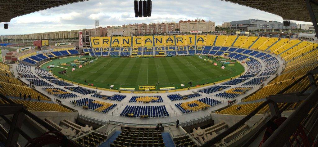 El Estadio de Gran Canaria se prepara para una gran entrada ...