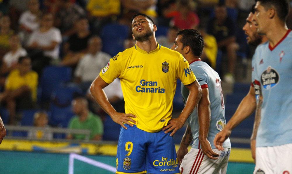 Calheri y Jhony se caen del once titular para disputar el Celta las Palmas