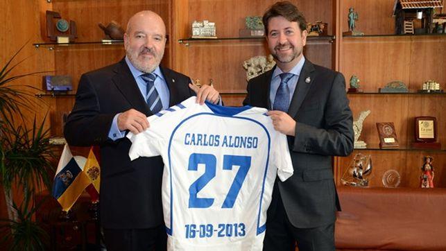 Carlos Alonso pide un cambio en el CD Tenerife